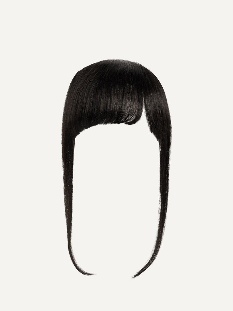 Luxy Hair - Off Black Clip-In Bangs