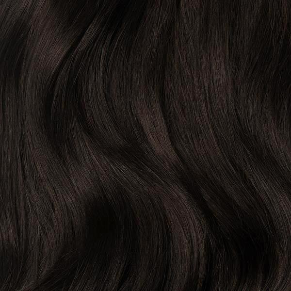 Seamless Mocha Brown Volume Bundle Clip-Ins