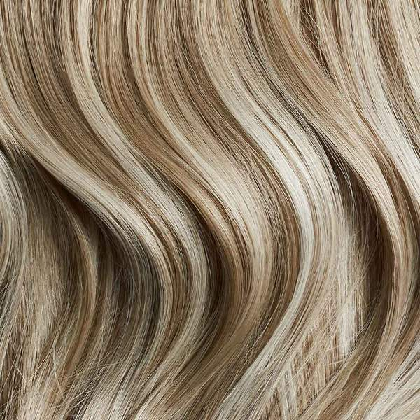 Seamless Natural Blonde Balayage Volume Bundle Clip-Ins
