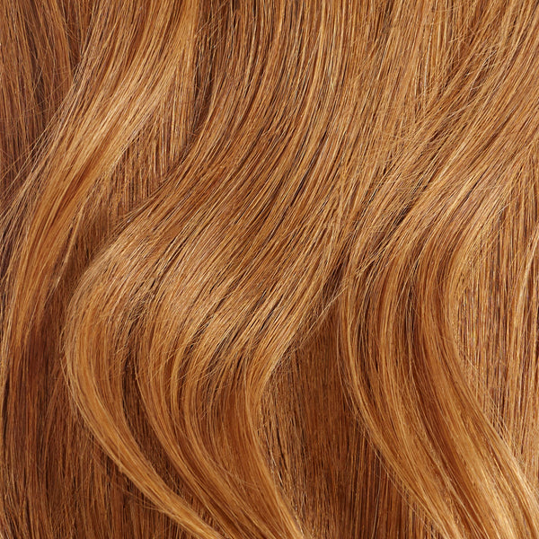 Seamless Natural Red Volume Bundle Clip-Ins