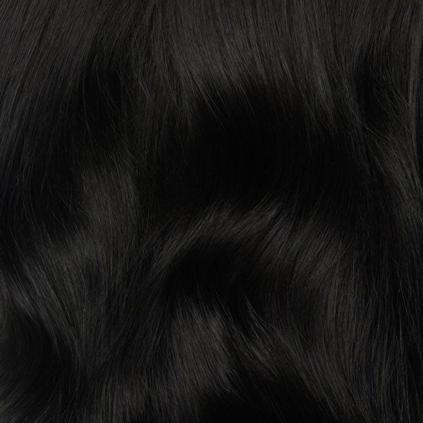 Off Black Volumizer Weft