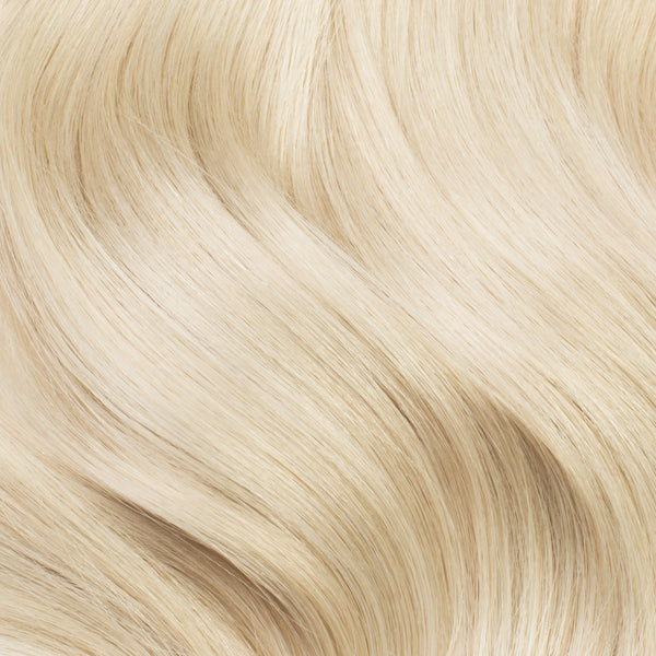 Seamless Platinum Blonde Volume Bundle Clip-Ins