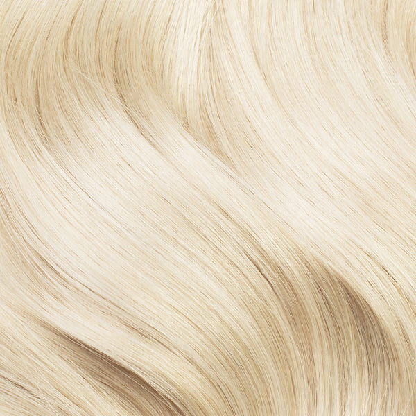 Seamless Clip In Hair Extensions Platinum Blonde Luxy Hair