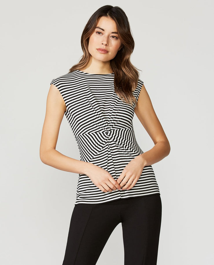 Bailey 44 - Striped Hypotonic Top