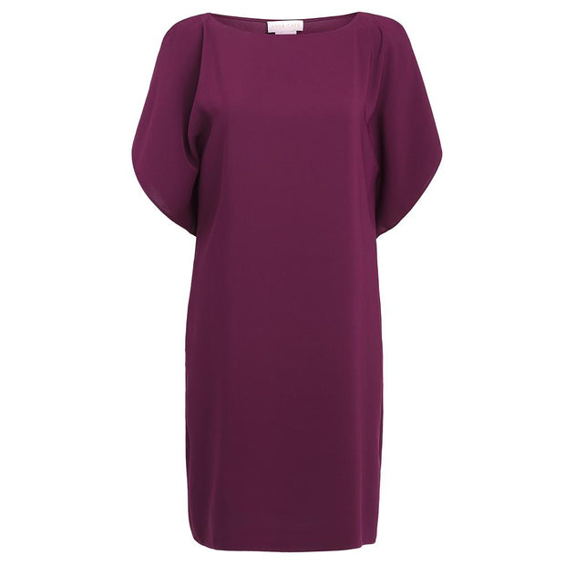 Anna Cate - Eva Ruffle Dress - Wine