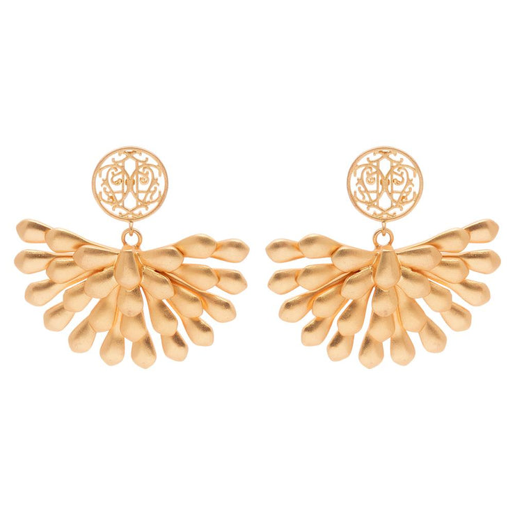 Anna Cate - Adele Cutout Earring - Gold