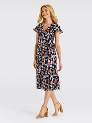 Draper James - Linen Wrap Dress