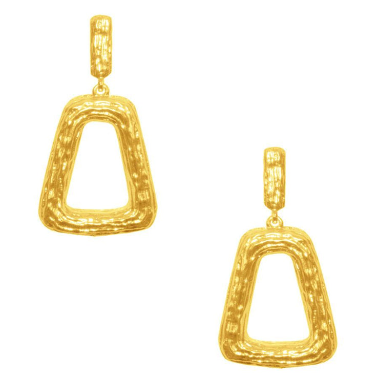 Karine Sultan - Simone Geo Statement Earrings