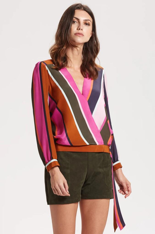 Marie Oliver - Ripley Multi Stripe Blouse