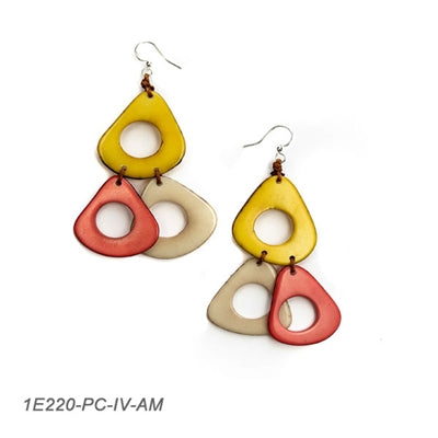 Tagua - Lucia Earrings