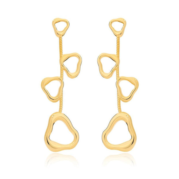 Maria Dolores Multi Triangular Shape Earrings