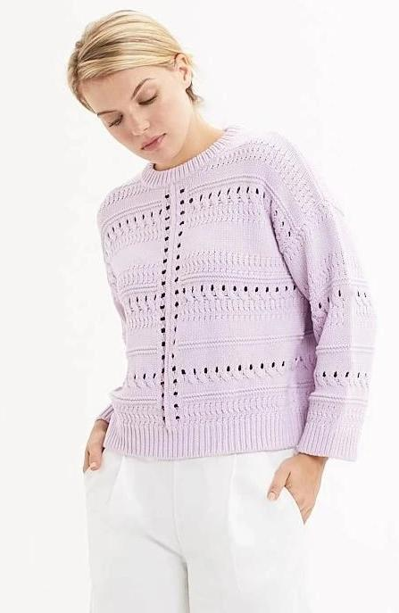 Marie Oliver - Lilac Demi Sweater
