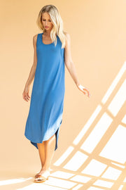 Lilla P -Easy Long Tank Dress : Marlin