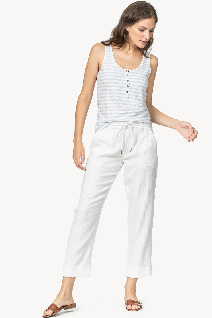 Lilla P - Ankle Pant White