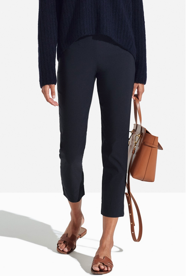 Persifor Solid Georgie Pant - Coast Blue