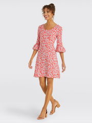 Draper James - Bell-Sleeve Dress