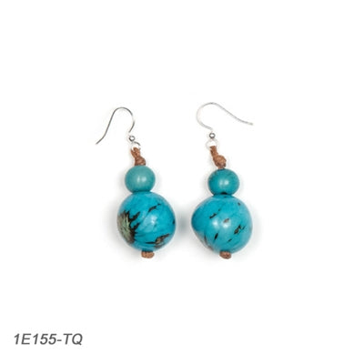 Tagua - Semilla Earrings