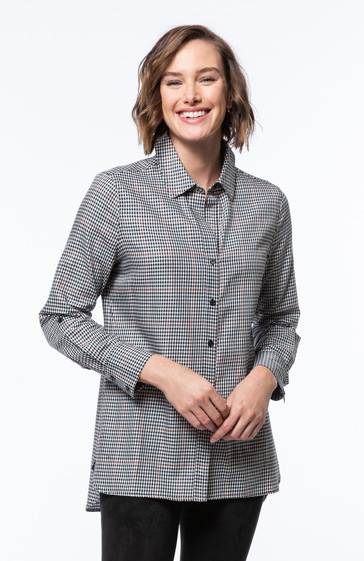 Tyler Boe - Teri Check Shirt - Multi