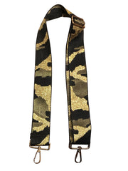Ahdorned - Adjustable Metallic Thread Camo STRAP (Strap Only)