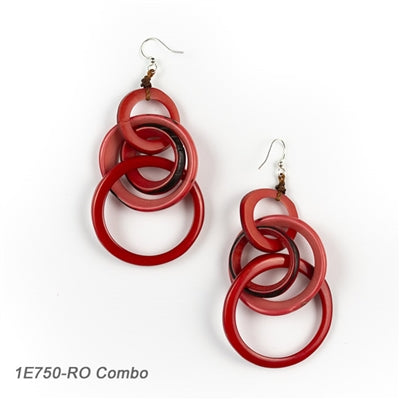 Tagua - Yazmine Earrings