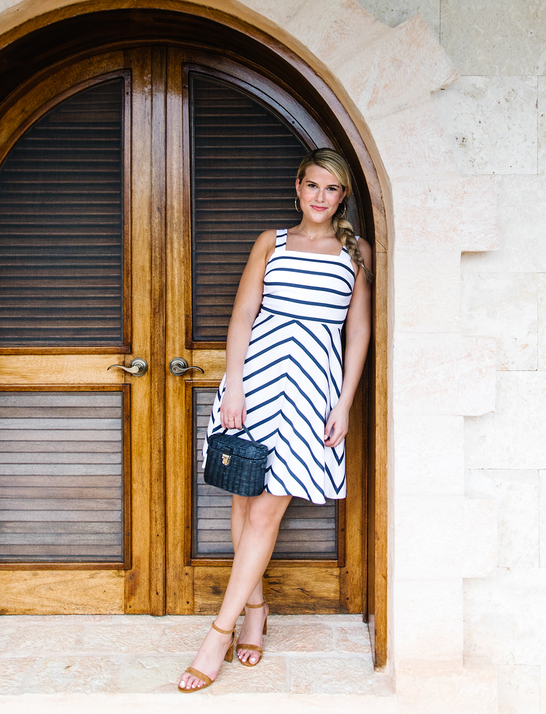 Draper James - Stripe A-Line Dress