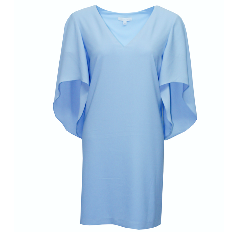Anna Cate - Meredith S/S Dress - Cashmere Blue