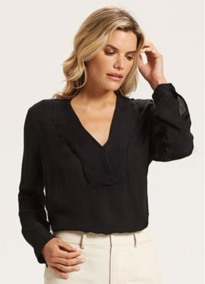 Marie Oliver - Martha Blouse Black