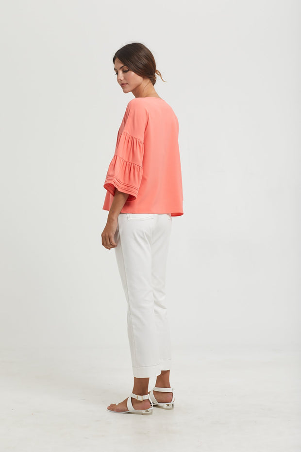 Marie Oliver 3/4 Sleeve Austin Top