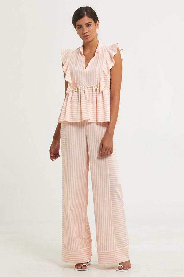 Marie Oliver - Striped Carter Pant