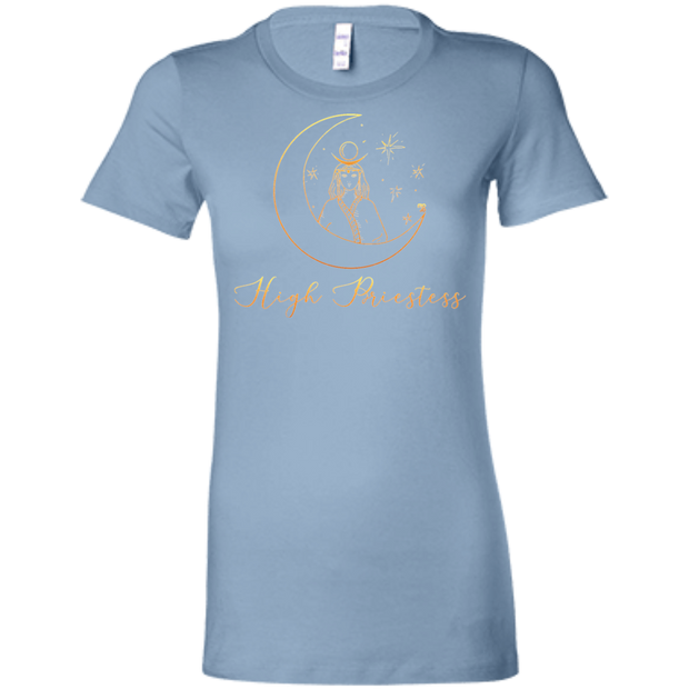 High Priestess Ladies' Tarot T-Shirt