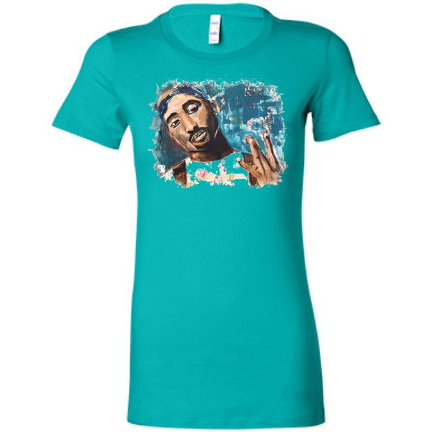 Tupac Ladies' T-Shirt