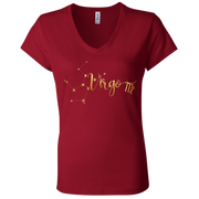 Virgo Ladies' Astrology V-Neck T-Shirt