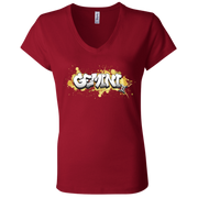 Gemini Ladies' Astrology V-Neck T-Shirt