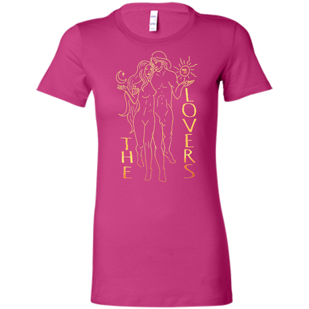 The Lovers Ladies' Tarot T-Shirt