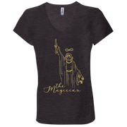 The Magician Ladies' Tarot V-Neck T-Shirt