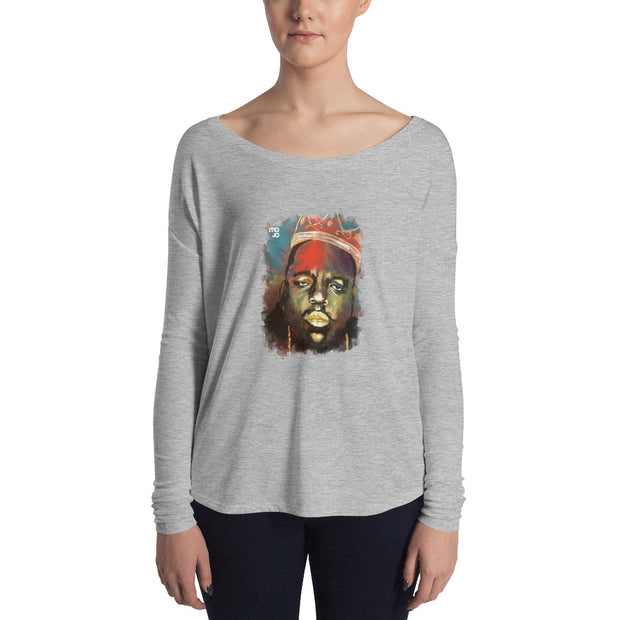 Biggie Flowy Icon Long Sleeve Tee