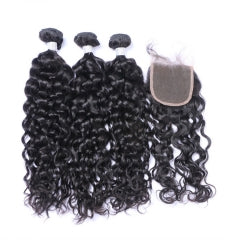 3 Bundles + Closure - Natural Wave