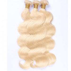 3 Bundles Russian Blonde - Body Wave