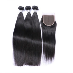 3 Bundles + Closure - Straight