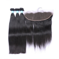 3 Bundles + Frontal - Straight