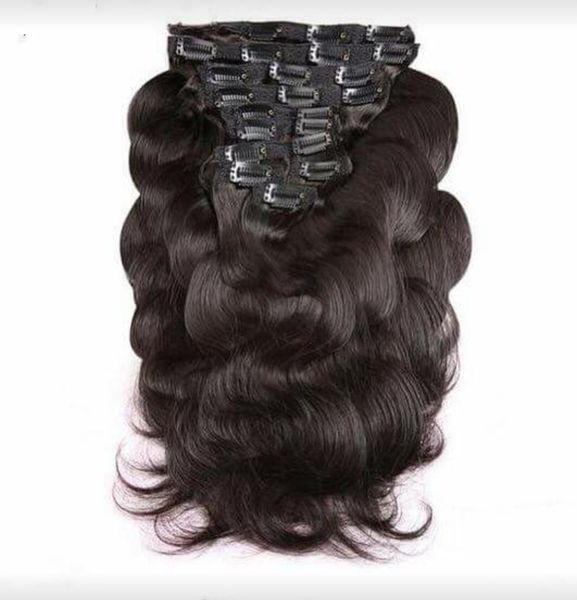 Clip-In Extensions - Body Wave