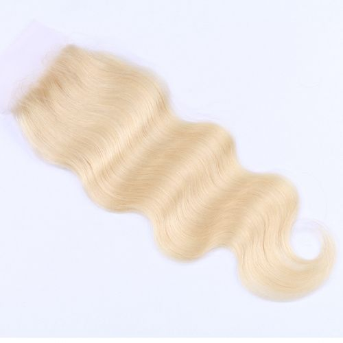 Russian Blonde Lace Closure - Body Wave (613)