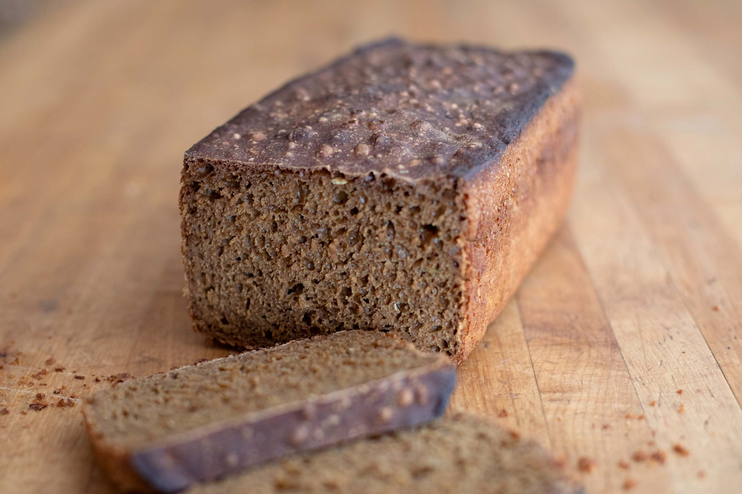 Rye, Molasses & Fennel Bread