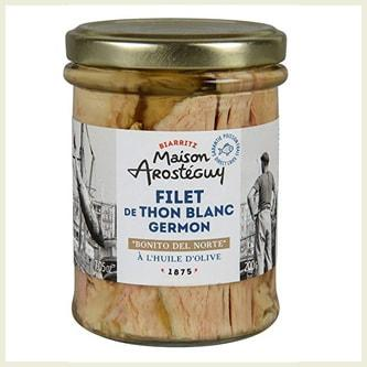 Olive Oil Germon White Tuna Fillet