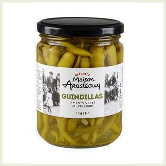 Pickled Green Guindillas Peppers