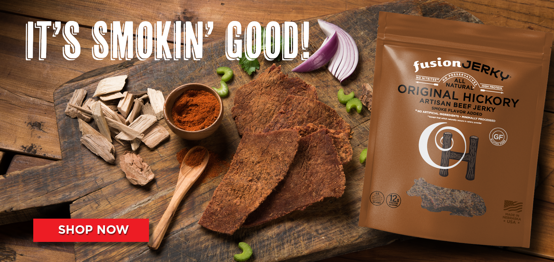 Fusion Jerky — Handcrafted Artisan Protein Snack