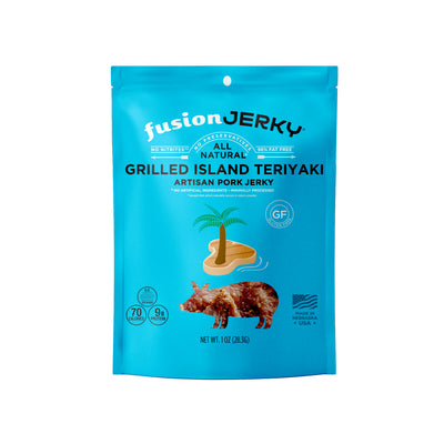 20 Pack Grilled Island Teriyaki Pork 1 oz