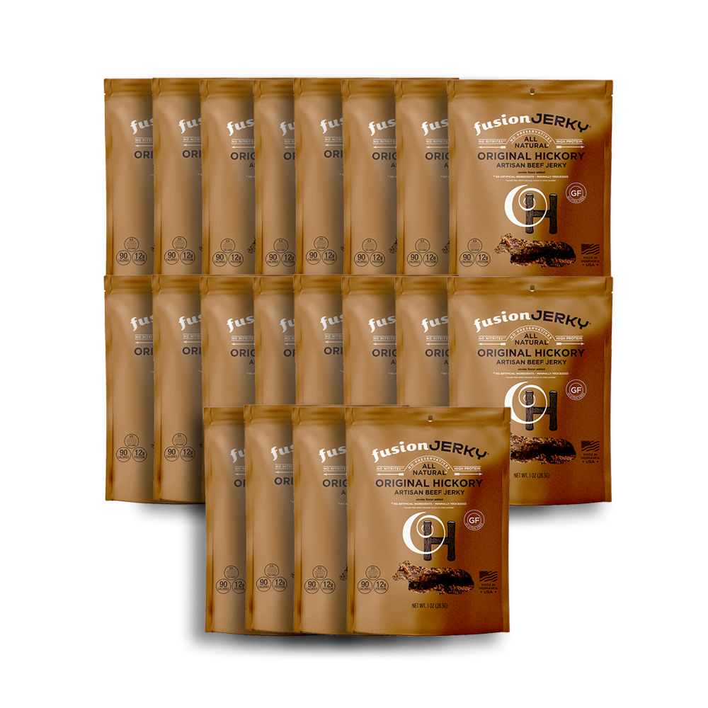 20 Pack Original Hickory Beef 1 oz