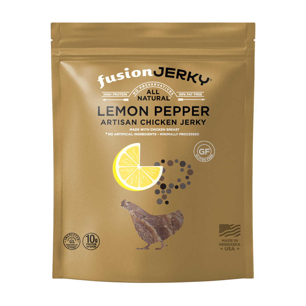Lemon Pepper Chicken Jerky