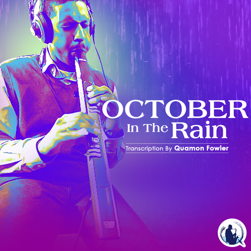 E-Flat - Alto Sax | October In The Rain EWI Solo Transcription